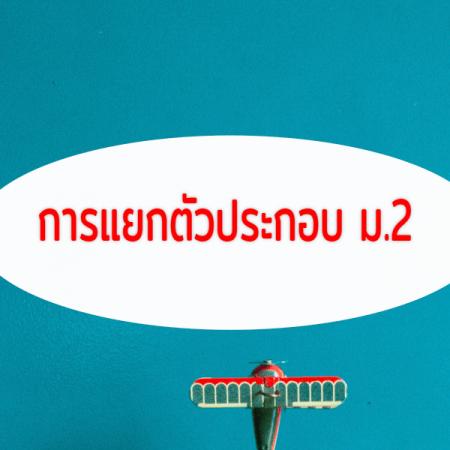 การแยกตัวประกอบ ม.2(M2205)